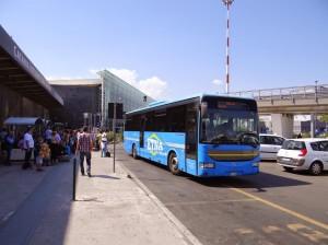 Statia pentru autobuze interurbane - aeroportul Catania